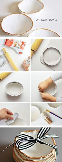 15 gift ideas that dont totally suck dishes martha stewart heres a great project you can do with kids and give a gift people will really treasure theres nothing like homemade clay bowls diy craft from solutioingenieria Images