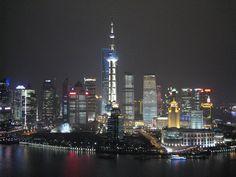 View from the Shanghai Hyatt