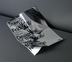 Made Thought / Design Miami / Designer of the Year / Poster / 2006