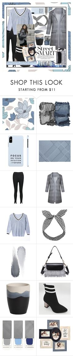 """Funny shades of gray,this is straight fashion slay! 🌫"" by jelena-bozovic-1 ❤ liked on Polyvore featuring Graham & Brown, NARS Cosmetics, Burberry, Lulu in the Sky, Clé de Peau Beauté, Yankee Candle, New View, polyvoreeditorial, polyvorecontest and polyvorefashion"
