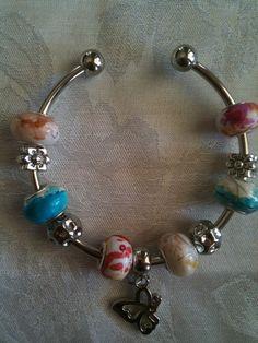 European-Style Bracelet with Euro Beads