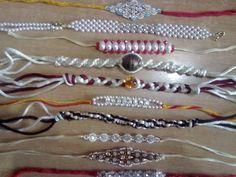 Bracelet 2 /Rakhi - handmade - Crafts by Sangeeta Agrawal in My Scrapbook at touchtalent