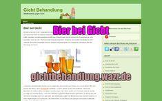 Bier bei Gicht - Lebensmittel / Ernährung Foods, Drinking