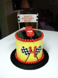 Mini Cars Cake