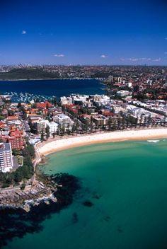 Manly Beach, Sydney, Australia - aerial #ASdA044