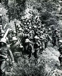 Italian infantrymen in Ethiopia  Caesare Bonvini