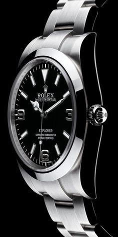 Rolex Amazing Watches, Beautiful Watches, Cool Watches, Rolex Explorer, Explorer 1, Dream Watches, Luxury Watches, Rolex Watches For Men, Men's Watches