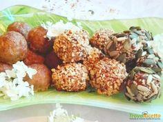 Polpettine al forno assortite  #ricette #food #recipes