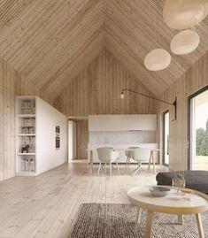 Cheap Home Decor .Cheap Home Decor Cabin Interiors, Wood Interiors, Decoration Inspiration, Interior Inspiration, Wood Architecture, Prefab Homes, House In The Woods, Cheap Home Decor, Interior And Exterior