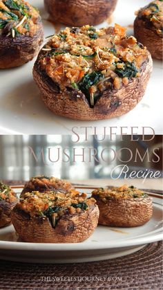 How to Make Stuffed Mushrooms | Easy Side Dish Recipe