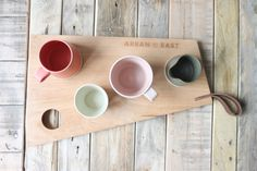 Simple, functional and beautiful design for your home. Handmade in the heart of Dublin. Irish made, hand-thrown geometric pottery. Bowls, Irish Design, Kitchenware, Tableware, Arran, Tea Pots, Pottery, Ceramics, Street