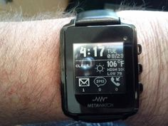MetaWatch, smartwatch...Rumors would have you believe that no fewer than four companies are busily readying smartwatches for public consumption. Problem is the public hasn't asked for them.