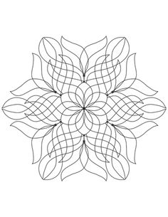 Free Adult Coloring Pages - Kelly Dombrowski