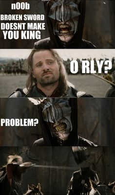 funny LOTR | Lotr funny stuff! -sorry, dunno who did them!the last one made by doku ...