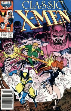 Classic X-Men n°6, February 1987, cover by Art Adams and Craig Russell.
