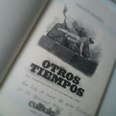 Otros tiempos  Relatos sobre la tauromaquia.  www.culbuks.com