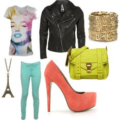 Casual Outfit, created by cienna-lee-fourstar on Polyvore