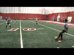Speed of Play Training Session from University of Cincinnati Women's Soccer
