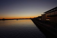 17th of December - Bordeaux (France) : Blue hour on Garonne river. Beauty from this historical city escapede from 2nd world war destruction and recently renovated