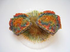 Rainbow cupcakes. Did these this year with 2 of my cool teaching buddies and the kiddos loved them. We made them during our unit on mixtures.