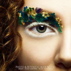 Makeup Ideas: 7 Steps to Great Makeup – Makeup Design Ideas Flower Makeup, Fairy Makeup, Eye Makeup, Make Up Looks, Halloween Kostüm, Halloween Makeup, Makeup Inspo, Makeup Inspiration, Make Up Art