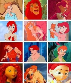 Disney loves gingers