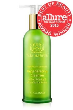 Regenerating Cleanser | 100% Natural Daily Exfoliating Cleanser | Antiaging Skincare - Tata Harper Skincare