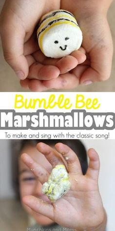 """""""I'm bringing home a baby bumblebee..."""" A fun activity to go with the classic preschool song! (this would be a great campfire song and activity too!)"""