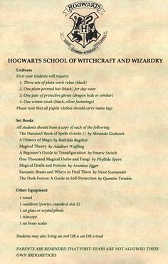 An entire world of wizards and witches is created in the Harry Potter series.