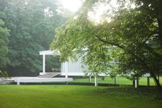 Mies van der Rohe's Farnsworth House Photos | Architectural Digest