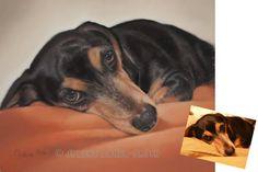 Dog Portraits Custom Dog Portraits  Pet Portrait by ArtByJulene #integritytt
