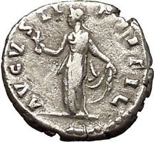 Faustina II wife of Marcus Aurelius Silver Ancient Roman Coin Spes HOPE i53158