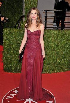 Anne Hathaway's Best Red Carpet Looks   Gallery   Wonderwall