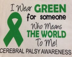 Cerebral Palsy Awareness Shirt by DacavGraphics on Etsy, $18.00