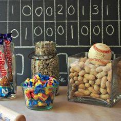 Baseball Table Decor | Major League Celebration