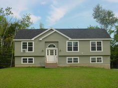 Image result for raised ranch house exterior