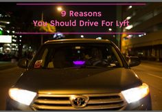 Before you try out a service, you usually look for a reason why you should try them. I'm going to explain 9 reasons why you should drive for Lyft.