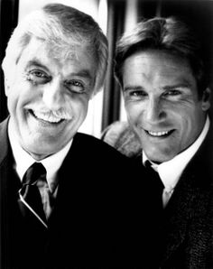 Actor Dick Van Dyke and actor son, Barry Van Dyke.