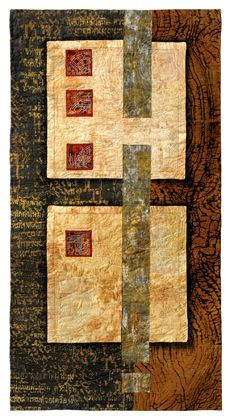 Ester Bornemisza - Love the simple, yet elegant, geometry of this piece as well as the warm colors.