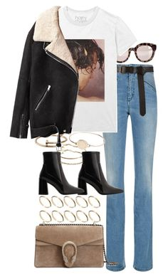 """Untitled #10880"" by nikka-phillips ❤ liked on Polyvore featuring Fiorucci, Dolce&Gabbana, Cartier, ASOS, MANGO, Acne Studios, Gucci and Marc by Marc Jacobs"