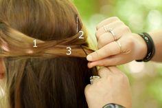 Emma hair season 2 The Cricket Game Overlapping Half-Up Half-Down Hair Tutorial | Makeup Geek