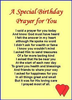 A Birthday Spiritual Prayers For Strength