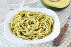 Recept na špagety s avokádovou omáčkou