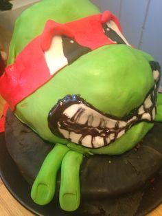 Ninja turtles Raphael cake