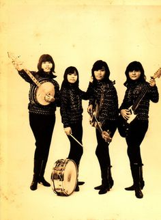 all-girl band from the Philippines ~ The Phillettes