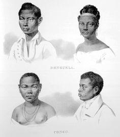 Rugendas - Escravos de Benguela e Congo - Afro-Brazilians - Wikipedia, the free encyclopedia
