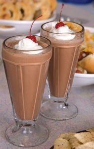 chocolate malts....my favorite!  this is on the menu tonight for when the boys get home :)
