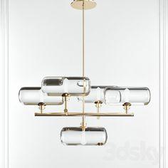 Modern Lighting, Lighting Design, Ceiling Lamp, Ceiling Lights, T Lights, 3d Models, Light Decorations, Chandelier Lighting, Desk Lamp