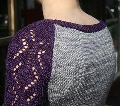 Jasseron pullover : Knitty First Fall 2014