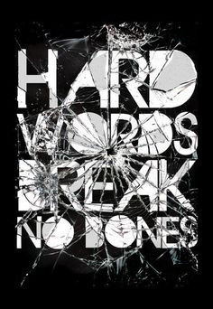 'Hard Words', art print by Ali GULEC  on artflakes.com